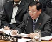 Philippines Foreign Secretary Alberto Romulo